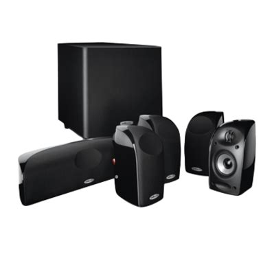 polk audio tl1600 5 1 home theater speaker system