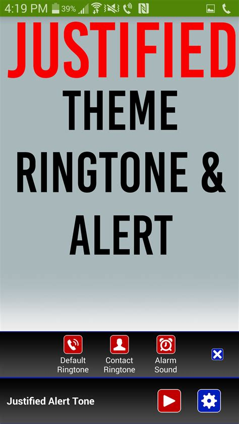 themes ringtones amazon com justified theme ringtone appstore for android