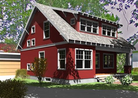 rote fassadenfarbe exterior color house exterior color