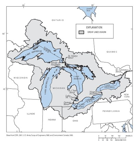 map us lakes maps united states map great lakes