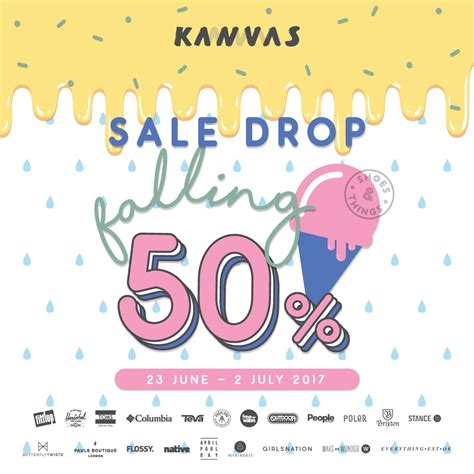 Kanvas Sale kanvas sale drop falling up to 50 23 ม ย 2 ก ค 60 thpromotion