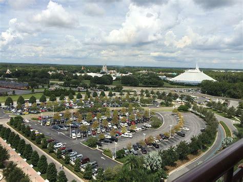 theme park view contemporary resort atrium club level at disney s contemporary resort