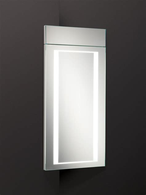 hib minnesota led illuminated corner bathroom cabinet 300