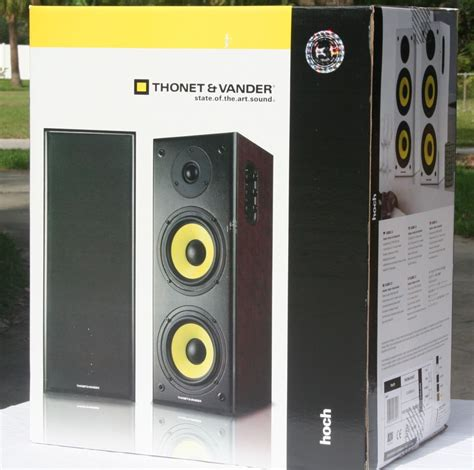 thonet vander hoch powered bookshelf speaker review