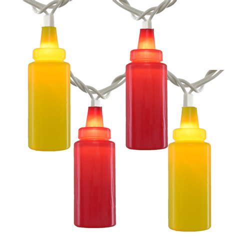 Ketchup Mustard Novelty String Light Set Novelty Light Strings