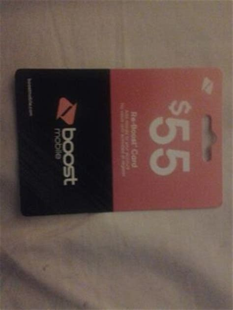 Boost Mobile Gift Cards - free 55 boost mobile reboost card gift cards listia com auctions for free stuff