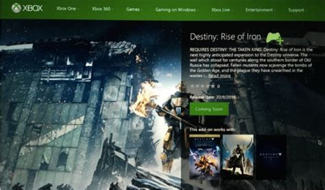 destiny rise of iron trailer excitement after leak product reviews net