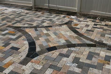Recycling Granite Countertops by Recycled Granite Pavers Orlando Granite Paving Stones