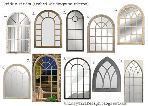 window pane decor 19 best i mirrors images on arch mirror
