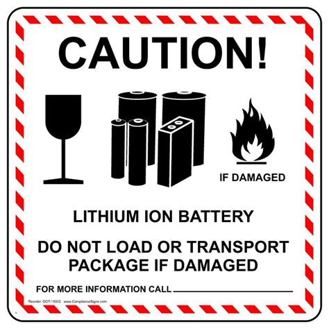 Fulfilling Orders With Lithium Ion Batteries Macrofab Lithium Ion Battery Label Template