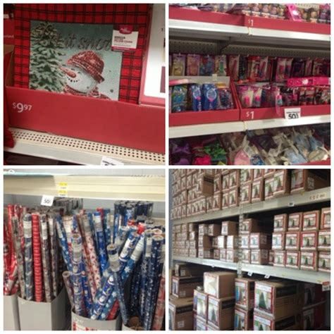 walmart christmas clearance 50 off save on gift wrap