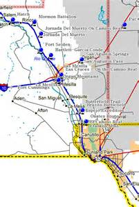 map of southwestern us and mexico fort tours southeastern part of southwestern new mexico