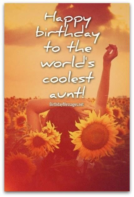 Birthday Quotes For Aunts Aunt Birthday Wishes Birthday Messages For Aunts
