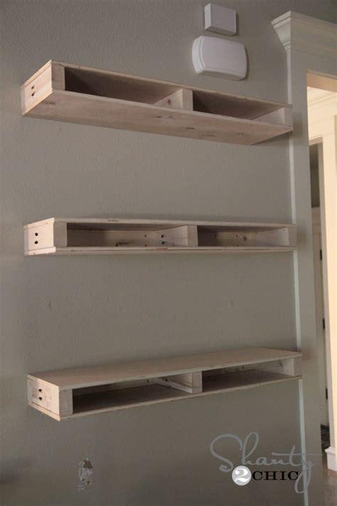 Building A Floating Shelf by Diy Floating Shelves