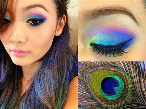 Peafowl Lipstick peacock makeup