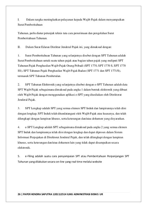 Praktikum Pph Orang Pribadi Dan Badan Edisi 3 Weddie Damayanti paper hendra saputra 1201112514 matakuliah administrasi perpajakan da