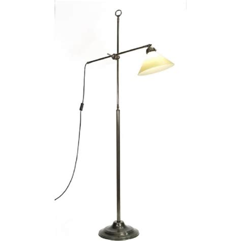 Period Lighting by Style Adjustable Arm Aged Brass Standard L