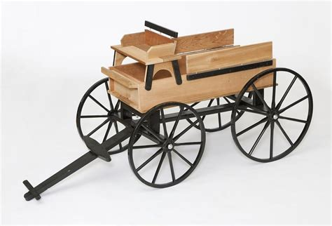 Amish Handcrafted - hitch wagon