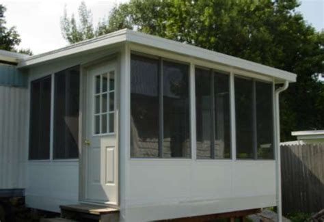 mobile home patio enclosures increase your home svalue and your level of comfort with a