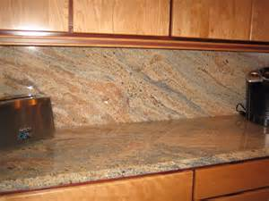 Backsplashes For Kitchens With Granite Countertops Granite Countertops Without Backsplash Home Design Ideas