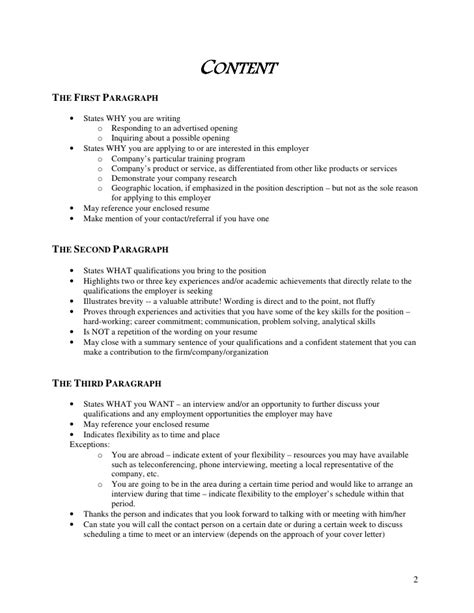 show exle of a cover letter 100 original cover letter guide