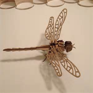 3d puzzle dragon fly