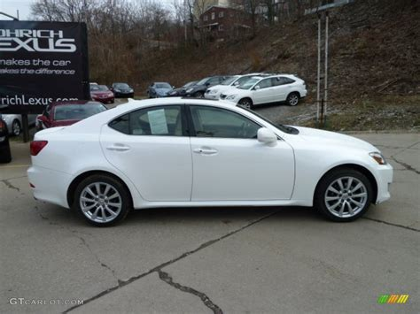 white lexus is 250 2008 starfire white pearl 2008 lexus is 250 awd exterior photo