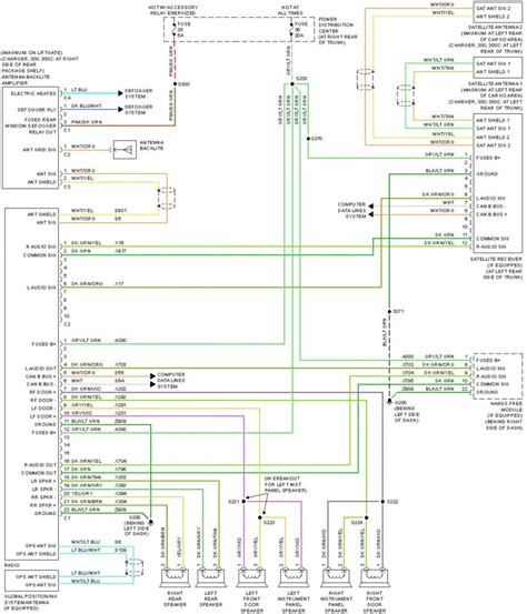 2006 dodge radio wiring diagram 2500 wiring diagram with