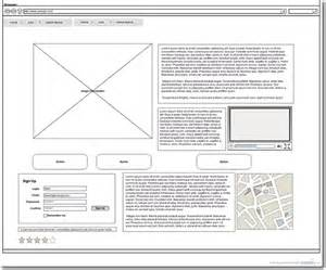 wireframe templates new project management web design templates