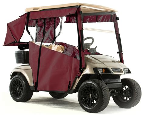 3 Sided Golf Cart Enclosures by Ezgo Txt Quot Pro Touring Quot 3 Sided Sunbrella Track Style Golf