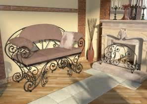 wrought iron furniture ideas for interior