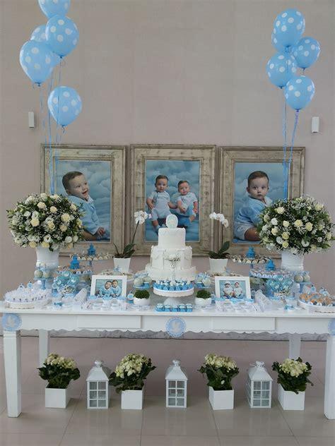 pink blue party baptism party boy baptism