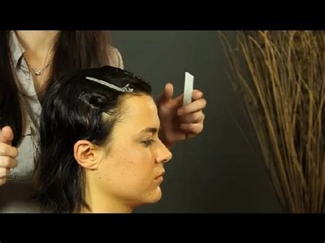 how to do ocean waves on short hair how to do finger waves on short hair shoulder length