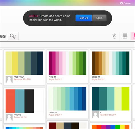 Color Combinations Generator | interesting and useful color scheme generators 25 tools
