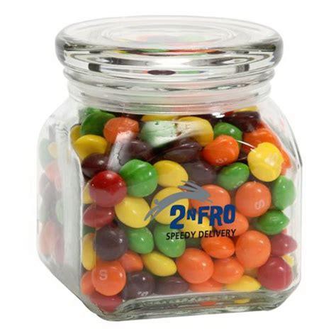 Skittles Jar personalized skittles in small glass jar usimprints