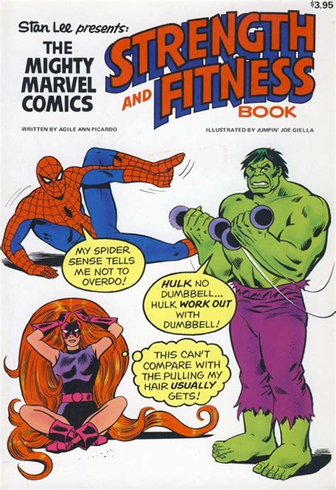 the fit books the mighty marvel strength and fitness book