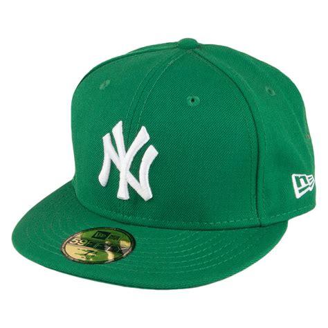 new era 59fifty new york yankees baseball cap green from