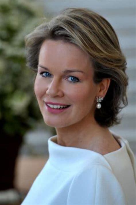 royal highness princess mathilde of belgium visits a