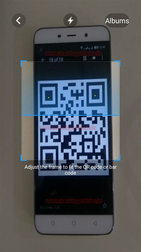 hacking android phones hack android phone using hta attack with qr code