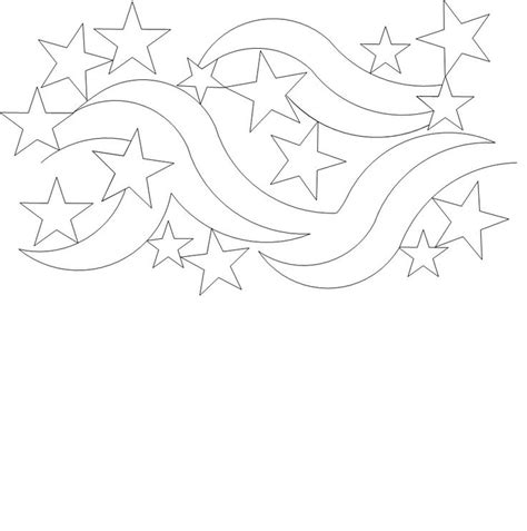 coloring page of the star spangled banner star spangled banner quilt sketch coloring page