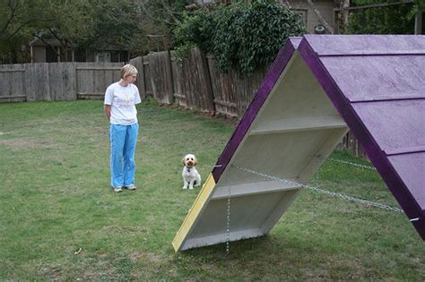 how to build a dog park in your backyard diy dog agility a frame 7 steps with pictures