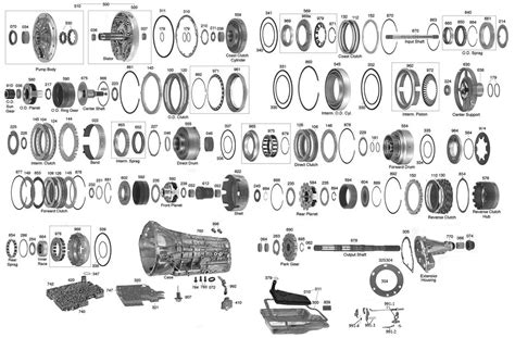 e40d transmission diagram 4r55e transmission exploded view diagram wiring diagram