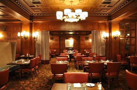 the room sf dining room hospitality interior design of the oak room restaurant san francisco