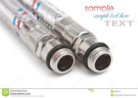 flessibili per rubinetti tubi flessibili per acqua fotografia stock immagine di
