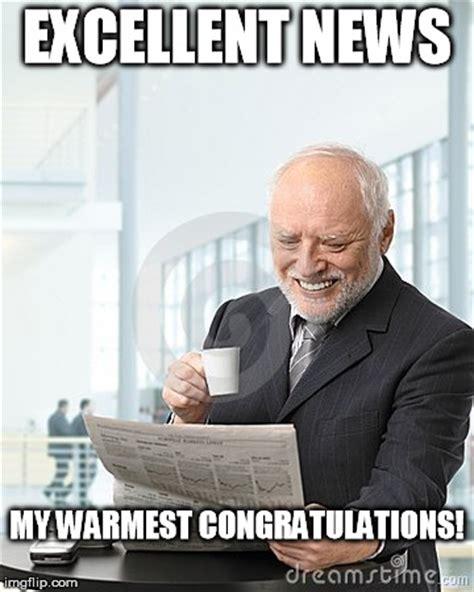Newspaper Meme Generator - harold newspaper imgflip