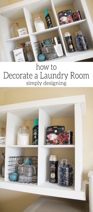 How To Decorate Laundry Room How To Decorate A Laundry Room