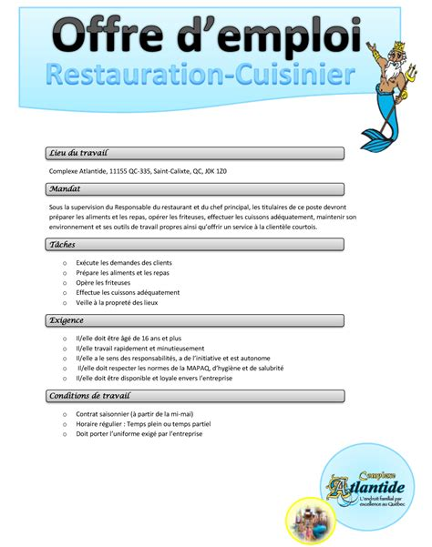 recherche d emploi en cuisine emploi chef de cuisine chef de cuisine espagne les