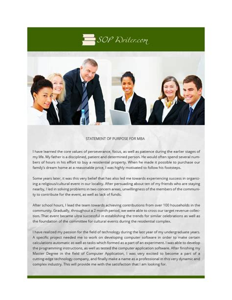 Mba Statement Of Purpose Length by Statement Of Purpose For Mba Authorstream