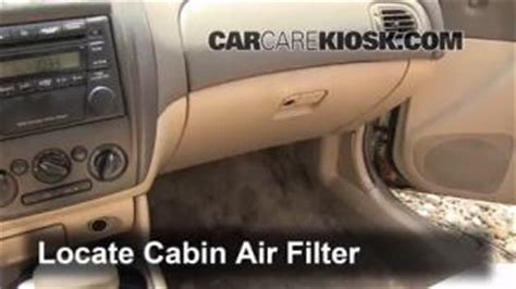 Miata Cabin Air Filter by Coolant Flush How To Mazda Protege 1999 2003 2002