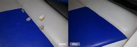 upholstery repair winnipeg boat seat repair plastic molding restoration fibrenew